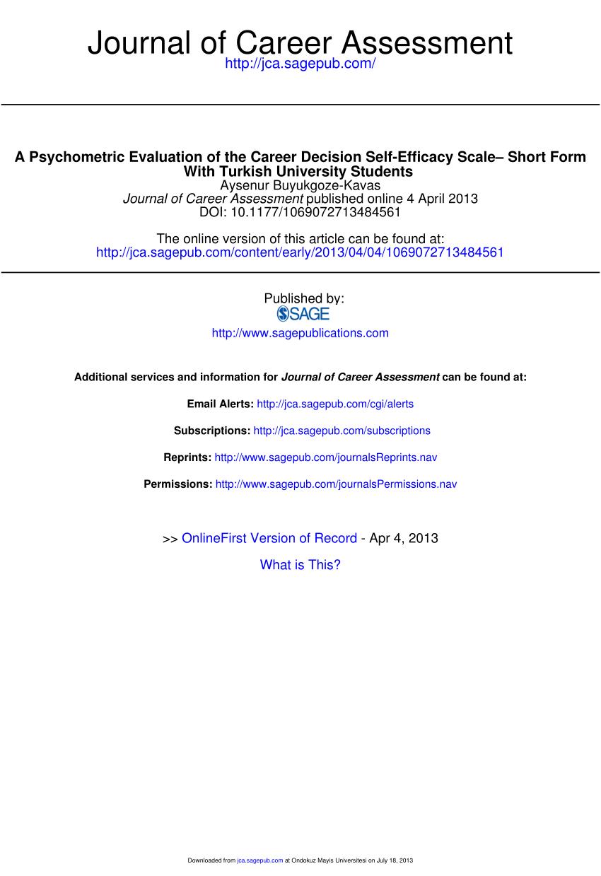 medium resolution of  pdf five factor personality characteristics and self esteem as predictors of personal indecisiveness