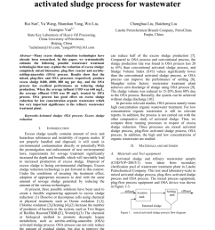 pdf excess sludge reduction research on different activated sludge process for wastewater [ 850 x 1203 Pixel ]