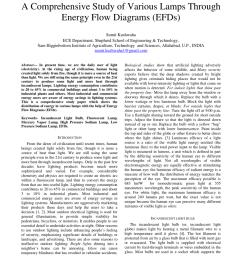 pdf a comprehensive study of various lamps through energy flow diagrams efds  [ 850 x 1100 Pixel ]