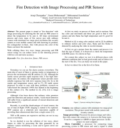 pdf fire detection with image processing and pir sensor [ 850 x 1202 Pixel ]