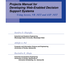 pdf projects manual for developing web enabled decision support systems [ 850 x 1100 Pixel ]