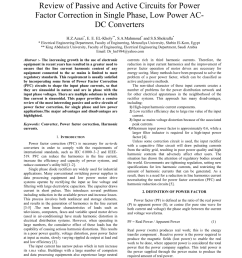 pdf review of passive and active circuits for power factor correction in single phase low power ac dc converters [ 850 x 1100 Pixel ]