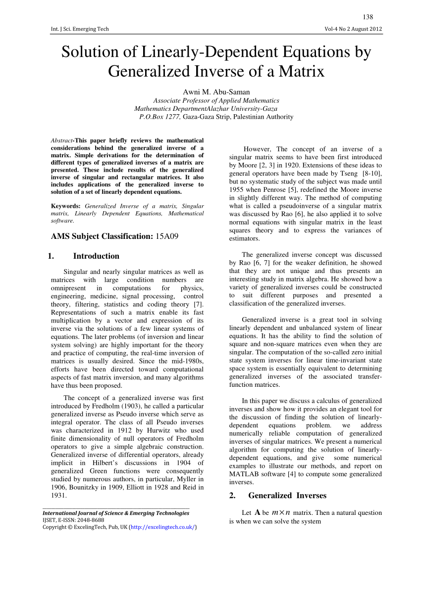 abstract for research paper