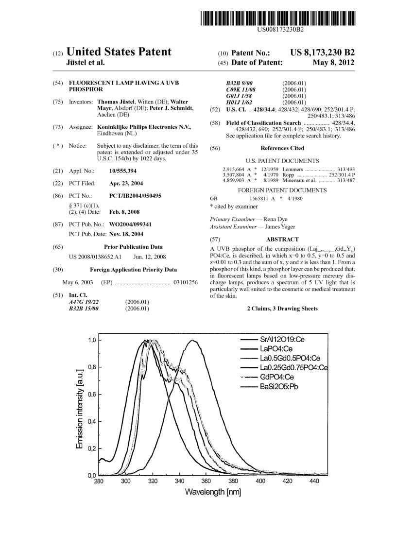 medium resolution of  pdf ultravoilet uv light spectrum of flourescent lamps