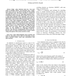 pdf design and development of control system for three phase induction motor using pic microcontroller [ 850 x 1203 Pixel ]