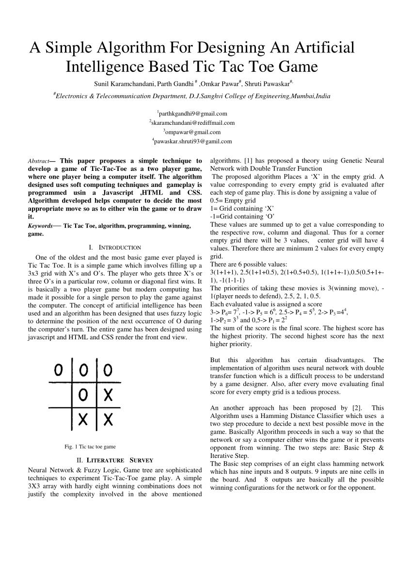 Game C++ Sederhana : sederhana, Simple, Algorithm, Designing, Artificial, Intelligence, Based