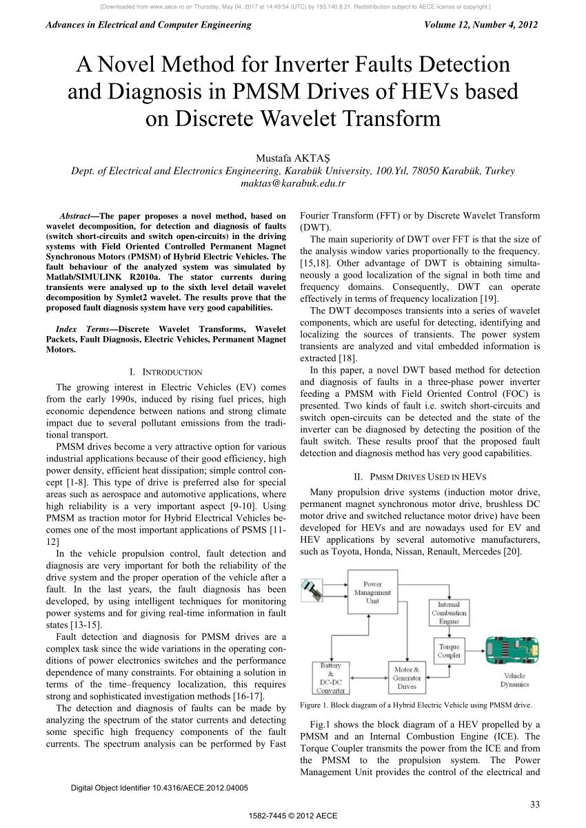 medium resolution of block diagram of a hybrid electric vehicle using pmsm drive download scientific diagram