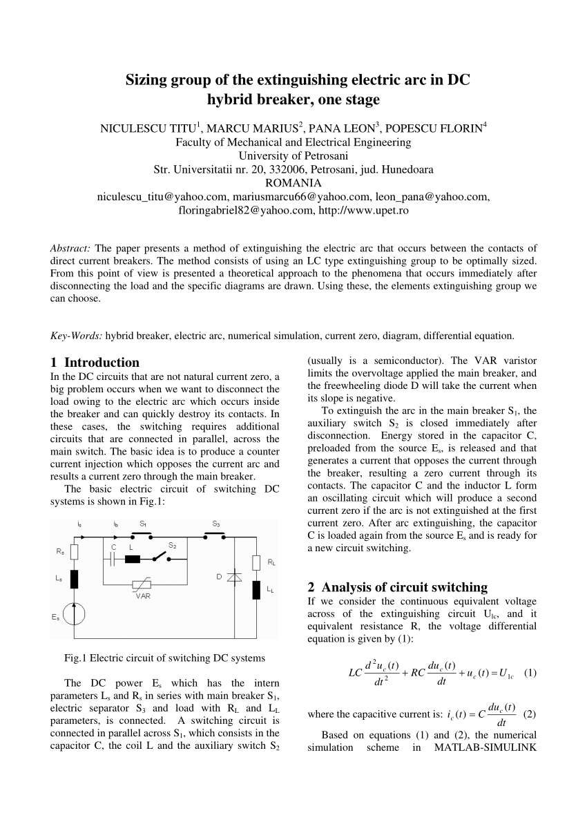 hight resolution of  pdf study of transitory phenomena at connecting the capacitive loads to an ac power source