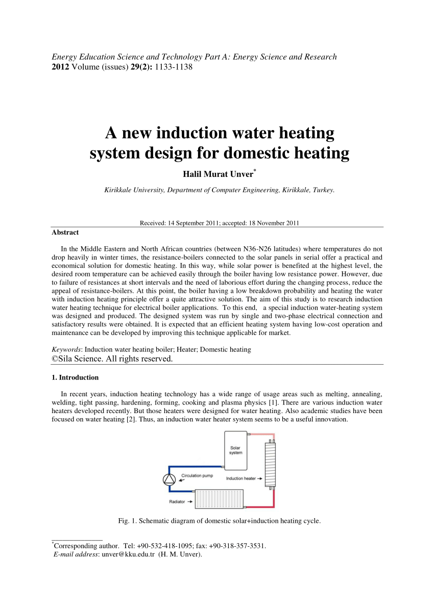 medium resolution of  pdf a new induction water heating system design for domestic heating