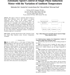 pdf automatic speed control of single phase induction motor with the variation of ambient temperature [ 850 x 1100 Pixel ]
