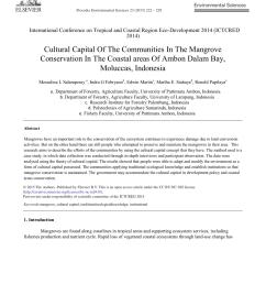 pdf strategi keberlanjutan pengelolaan hutan mangrove di tahura ngurah rai bali [ 850 x 1160 Pixel ]