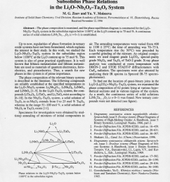 pdf subsolidus phase relations in the li2o nb2o5 ta2o5 system [ 850 x 1216 Pixel ]