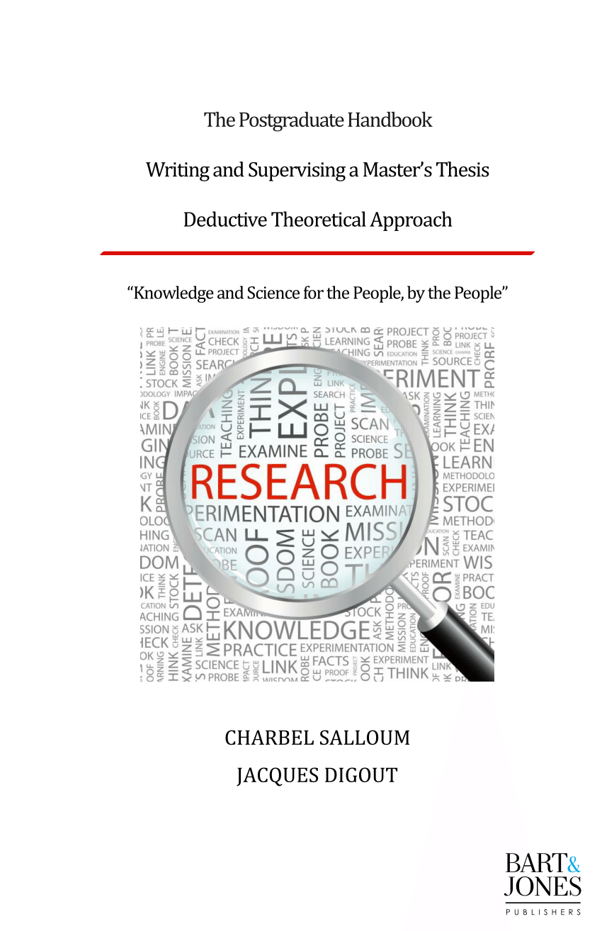 (PDF) The postgraduate handbook: Writing and supervising a