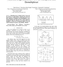 pdf adiabatic logic based low power multiplexer and demultiplexer [ 850 x 1100 Pixel ]
