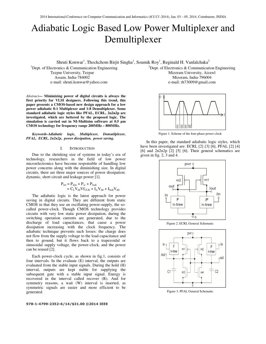 medium resolution of  pdf adiabatic logic based low power multiplexer and demultiplexer