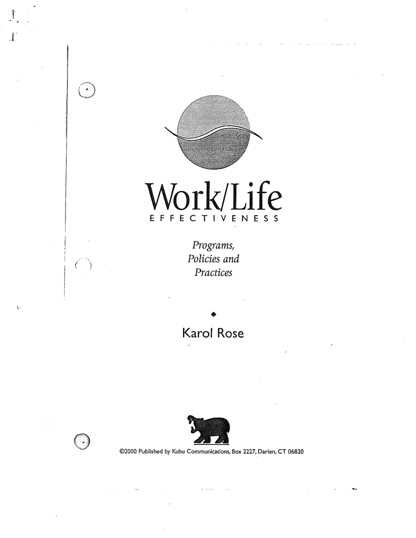 (PDF) Work Life and Employee Assistance Programs