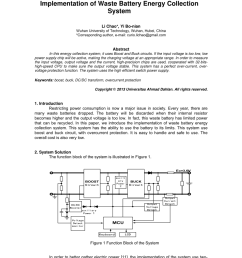 pdf implementation of waste battery energy collection system [ 850 x 1203 Pixel ]