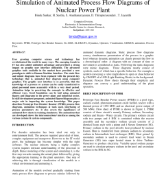 pdf simulation of animated process flow diagrams of nuclear power plant [ 850 x 1100 Pixel ]
