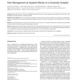 pdf pain management at inpatient wards of a university hospital [ 850 x 1103 Pixel ]