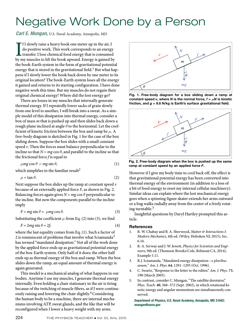 medium resolution of free body diagram for a box sliding down a ramp at constant speed v download scientific diagram