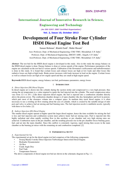 small resolution of  pdf development of four stroke four cylinder hsdi diesel engine test bed