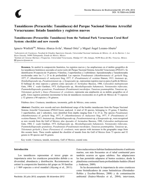 small resolution of  pdf discovery of a new genus of tanaidacean crustacea tanaidacea mirandotanaidae found associated with a deep sea terebellid polychaete