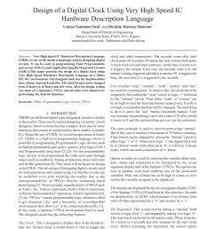 pdf design of a digital clock using very high speed ic hardware description language [ 850 x 1100 Pixel ]