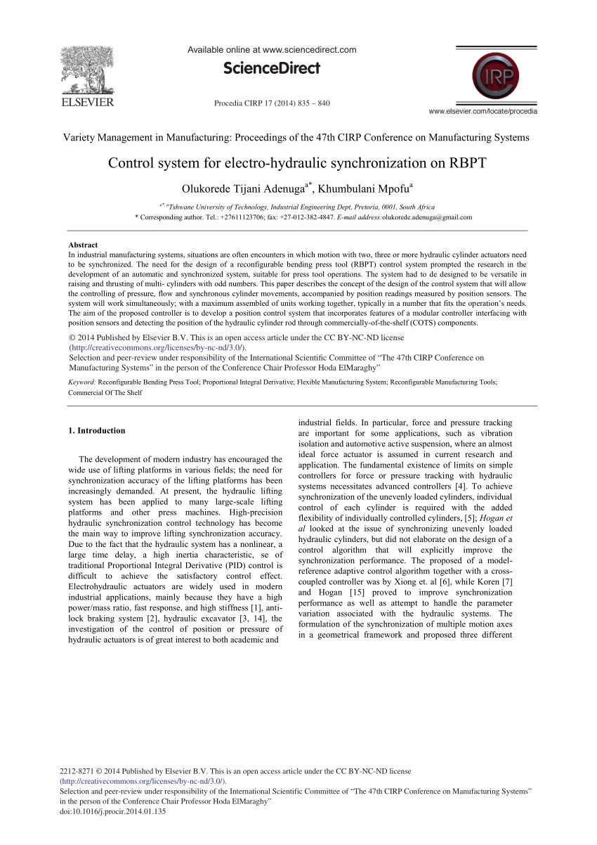 medium resolution of  pdf control system for electro hydraulic synchronization on rbpt