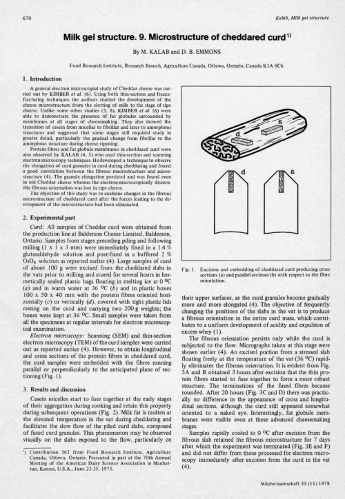 small resolution of cheese texture and current methods of analysis david w everett request pdf