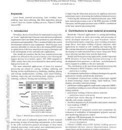 pulsed laser micro tig hybrid welding process characteristics request pdf [ 850 x 1202 Pixel ]