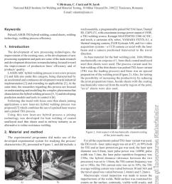 pdf pulsed laser tig hybrid welding of coated unalloyed steel thin sheets [ 850 x 1202 Pixel ]