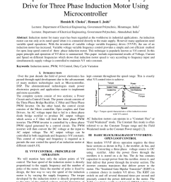 pdf experimental results of variable frequency drive for three phase induction motor using microcontroller [ 850 x 1202 Pixel ]