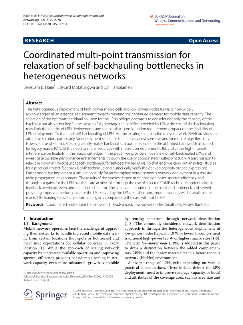 hight resolution of  pdf technical advances in the design and deployment of future heterogeneous networks