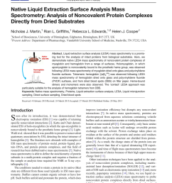 pdf ambient ionization mass spectrometry for point of care diagnostics and other clinical measurements [ 850 x 1129 Pixel ]