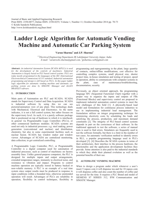 small resolution of  pdf ladder logic algorithm for automatic vending machine and automatic car parking system