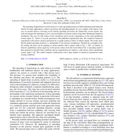 droplet spreading on a porous surface a lattice boltzmann study request pdf [ 850 x 1135 Pixel ]