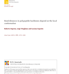 pdf bond distances in polypeptide backbones depend on the local conformation [ 850 x 1107 Pixel ]
