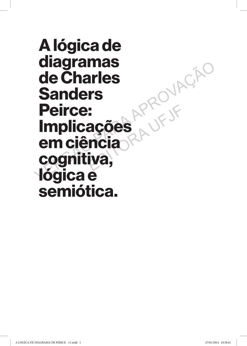 (PDF) A Lógica de Diagramas de C.S.Peirce