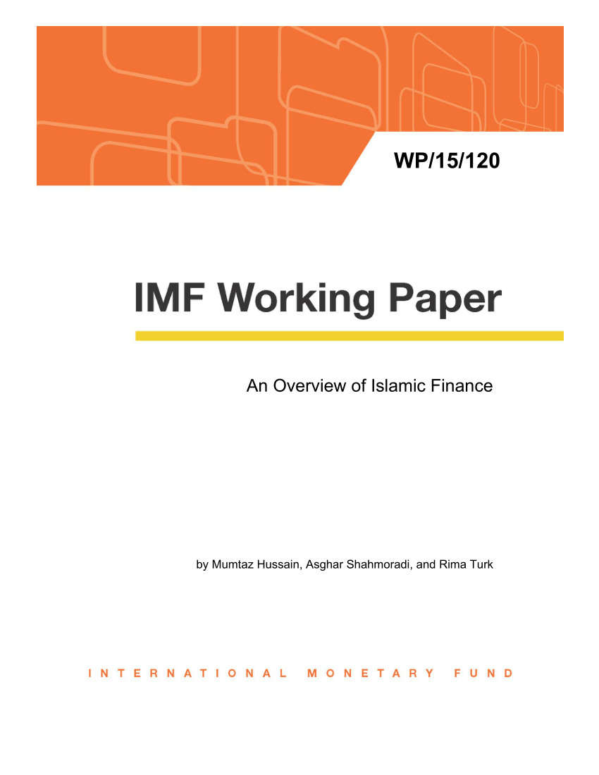 (PDF) An Overview of Islamic Finance