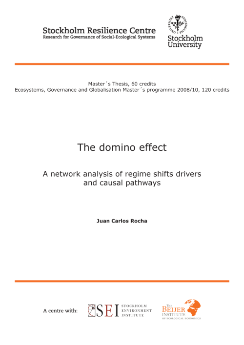 small resolution of  pdf the domino effect a network analysis of regime shifts drivers and causal pathways