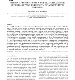 a 3 d description of the fabricated cupola furnace download scientific diagram [ 850 x 1202 Pixel ]