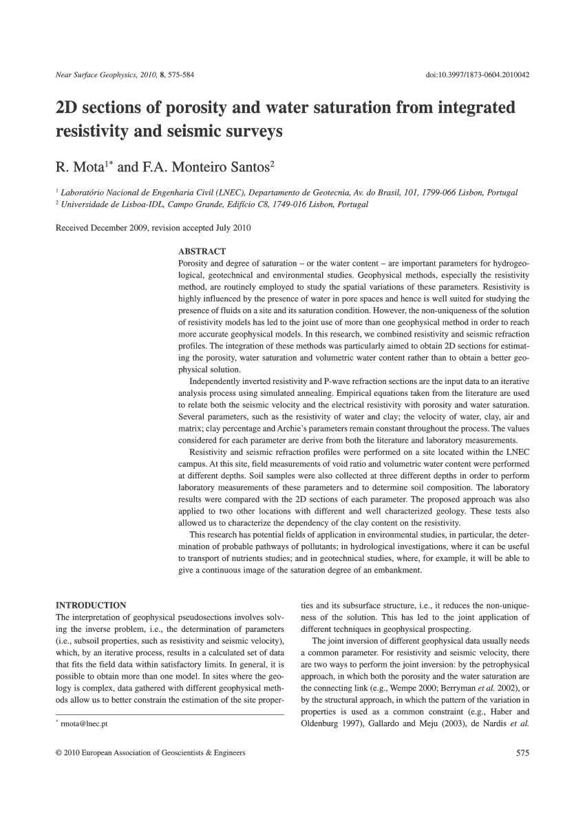 medium resolution of  pdf 2d characterization of near surface vp vs surface wave dispersion inversion versus refraction tomography