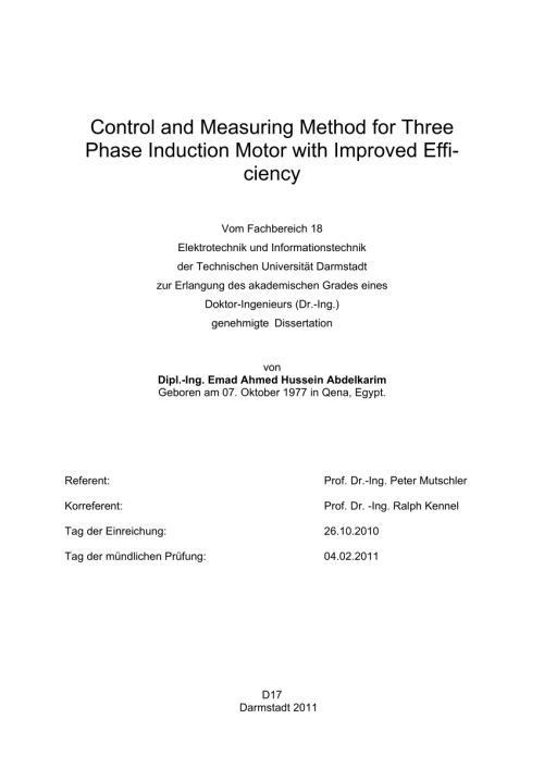 small resolution of  pdf control and measuring method for three phase induction motor with improved efficiency