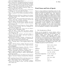 PDF) Word Classes and Parts of Speech [ 1208 x 850 Pixel ]