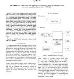 pdf gsm based alphanumeric scrolling display system [ 850 x 1202 Pixel ]