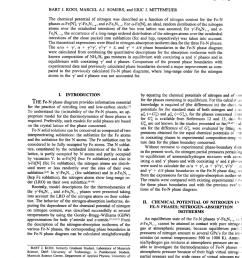 pdf an evaluation of the fe n phase diagram considering long range order of n atoms in fe4n1 x and fe2n1 z [ 850 x 1171 Pixel ]