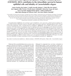 pdf characterization of oxyr as a negative transcriptional regulator that represses catalase production in corynebacterium diphtheriae [ 850 x 1133 Pixel ]