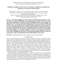 pdf the role and realization of location data in hospital information systems a conceptual framework [ 850 x 1203 Pixel ]