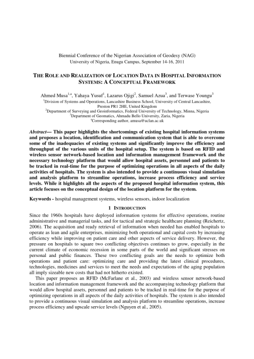 small resolution of  pdf the role and realization of location data in hospital information systems a conceptual framework