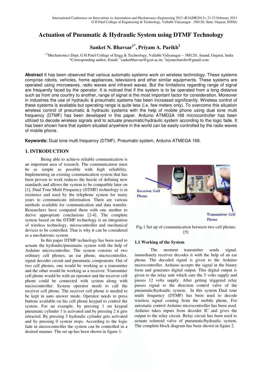 medium resolution of block diagram of the mobile controlled robot download scientific diagram